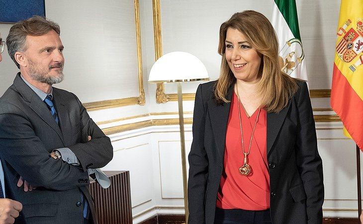 Perejón fue despedido por denunciar las irregularidades de la Junta de Andalucía durante la etapa de Susana Díaz
