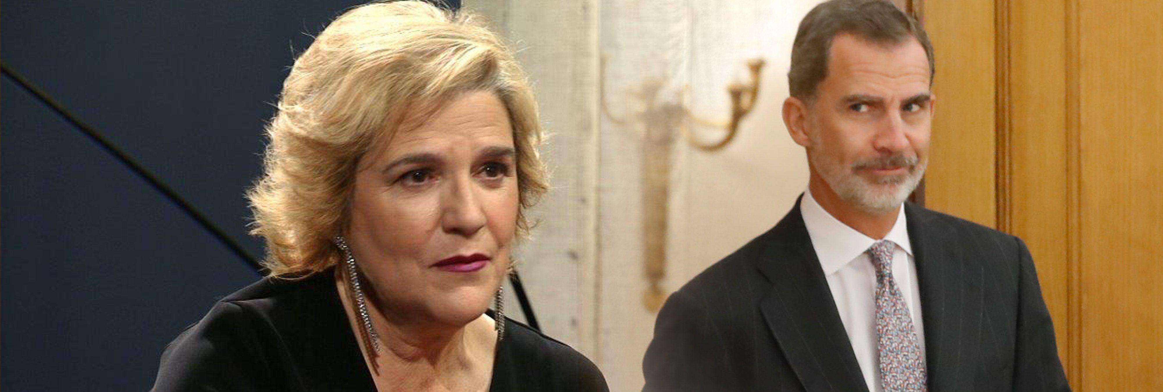 """Pilar Rahola, contra Felipe VI: """"Es un pijo que podría votar a VOX"""""""