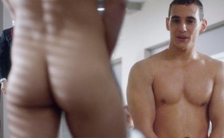 Desnudo integral de Christian en 'Élite'