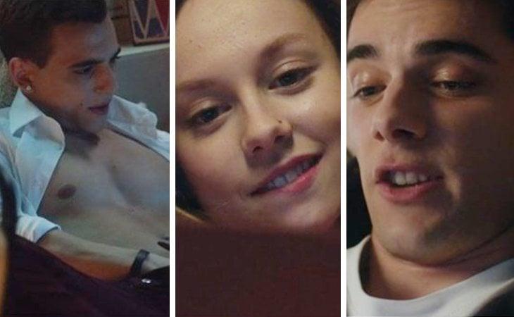 Carla, Polo y Christian practican sexting en 'Élite'