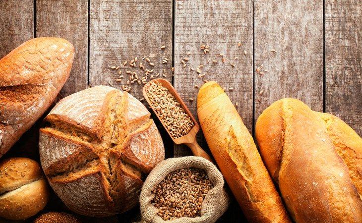 El pan y los cereales contienen una gran fuente de fibra