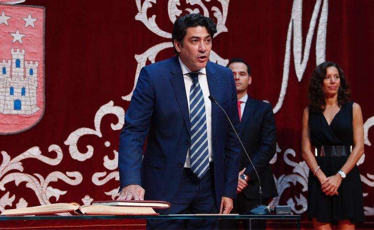 González estará bajo las órdenes de David Pérez, alcalde de Alcorcón entre 2011 y 2019