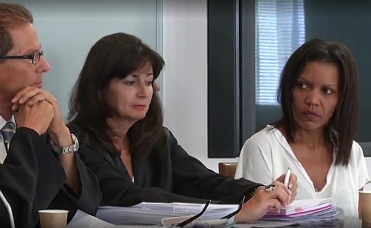 Ana Julia Quezada durante su juicio en la Audiencia Provincial de Almería