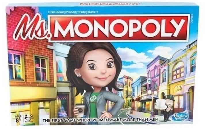 Ms. Monopoly dará ventaja a las mujeres desde el inicio