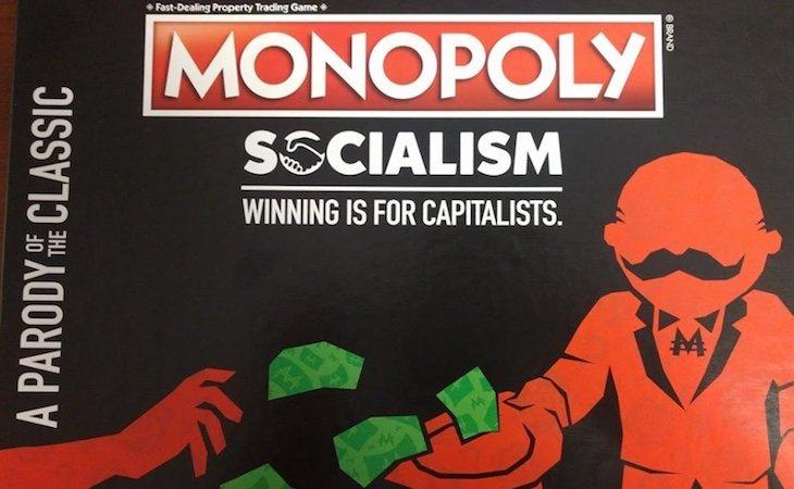 Hasbro también lanzó un Monopoly Socialista