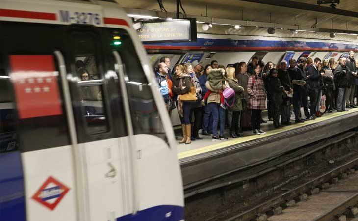 24 horas de metro durante el fin de semana