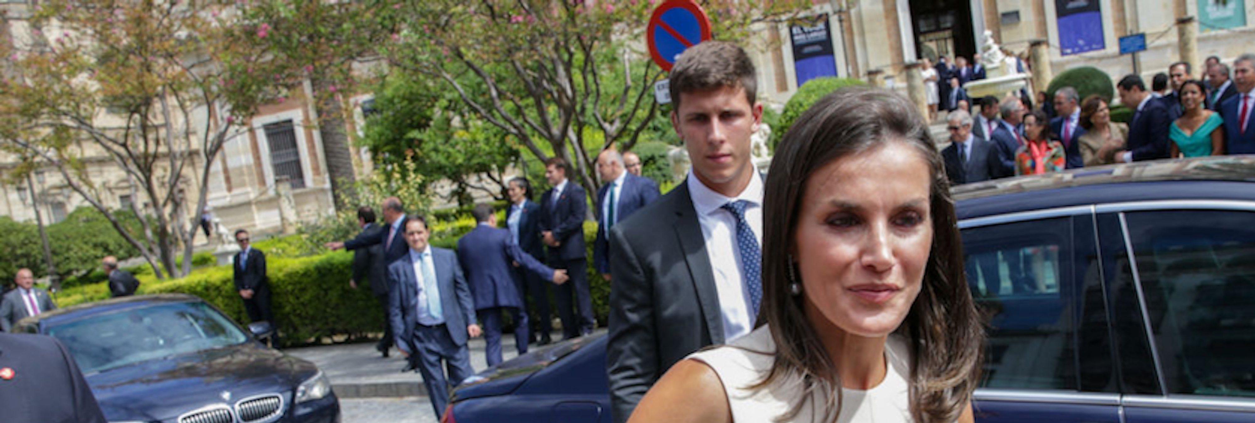 "La bronca de la reina Letizia a un escolta: ""¡Casi me mato!"""