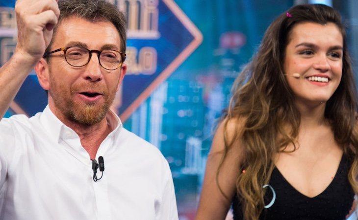 Pablo Motos dio la noticia con Amaia como invitada