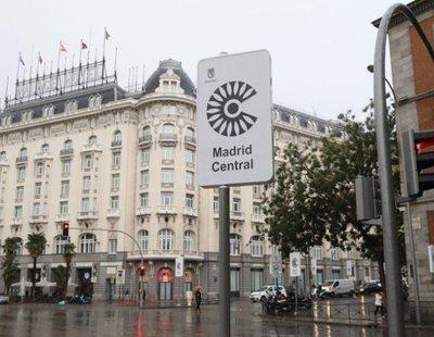 Un informe avala Madrid Central como la zona de bajas emisiones que más NO2 reduce en la UE