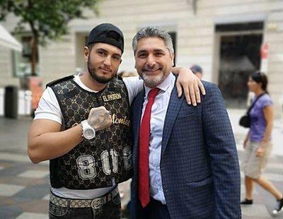 """Juan José Cortés, el mayor fan del ex de Chabelita, Omar Montes: """"Le como la cara"""""""