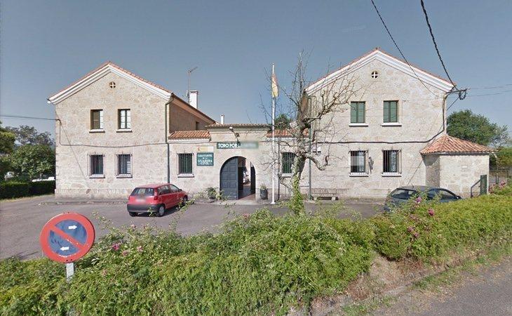 El acusado se ha presentado en el puesto de la Guardia Civil de Valga | Google Maps