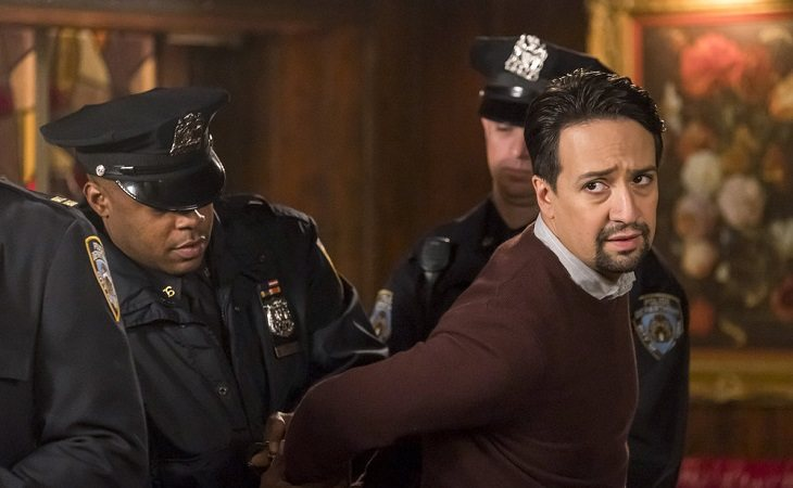 Lin-Manuel Miranda en 'Brooklyn Nine-Nine'