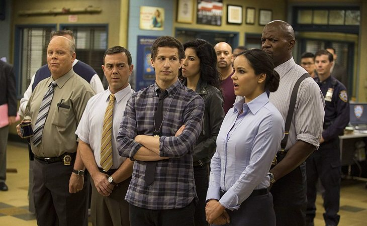 Protagonistas de 'Brooklyn Nine-Nine'
