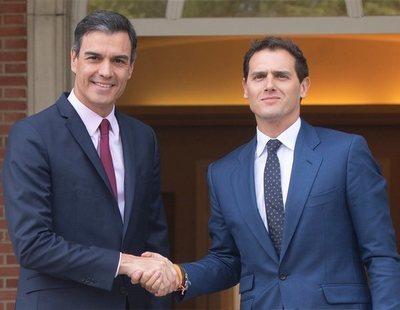 Albert Rivera ofrece la abstención de Ciudadanos a Pedro Sánchez a cambio de tres condiciones