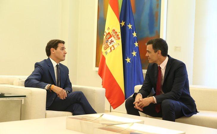 La reunión entre Sánchez y Rivera celebrada en mayo no sirvió para realizar ningún acuerdo u ofrecimiento