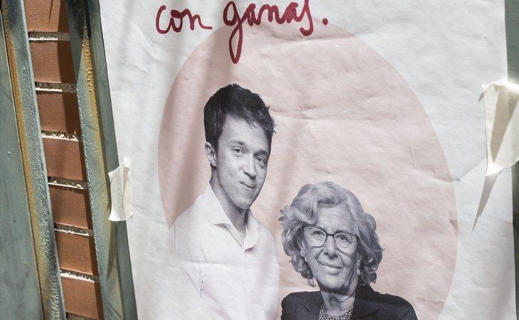 Errejón formó tándem con Carmena en las elecciones del 26-M y dejó a Podemos al borde de la pérdida de representación