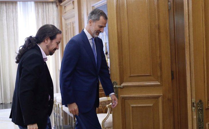 Iglesias ha desvelado algunas de sus conversaciones privadas con el Rey Felipe