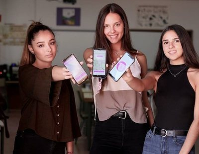 Cinco adolescentes crean una aplicación para que las mujeres vuelvan a casa sin miedo