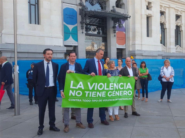 VOX boicotea el minuto de silencio en condena al asesinato de una mujer ante sus hijas