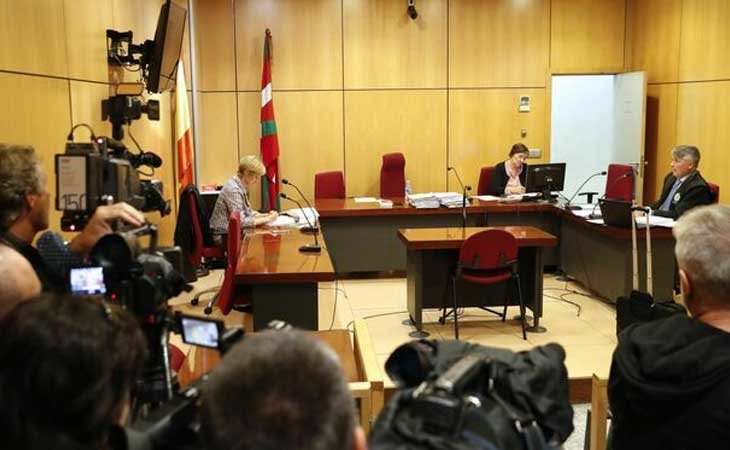 Juicio contra Prenda, Boza y Guerrero /EFE