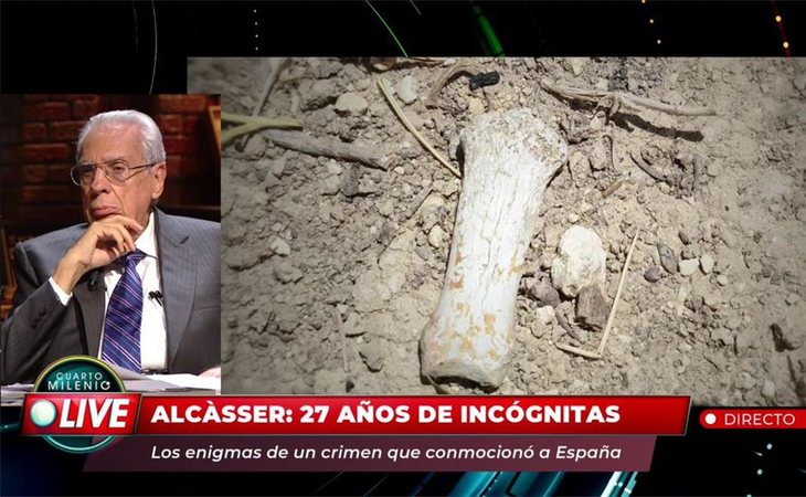 Luis Frontela asegura que los huesos encontrados, fruto del turismo macabro, no estaban en la fosa por casualidad