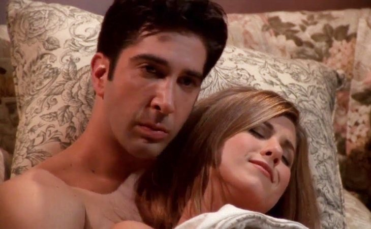Ross y Rachel se tomaron un descanso en 'Friends'