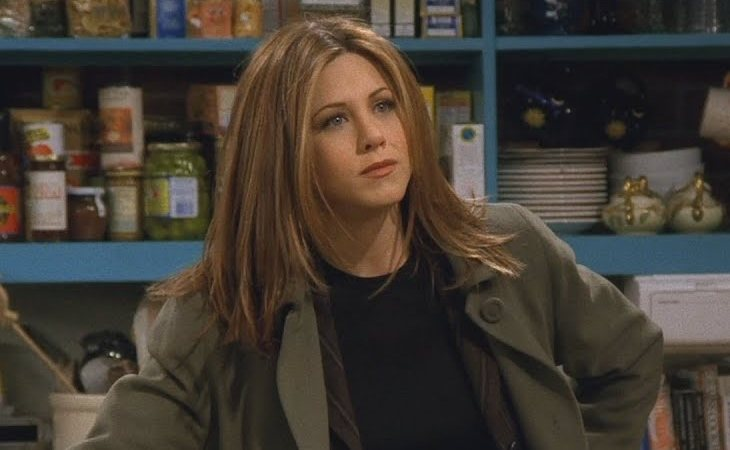 Rachel cortó con Ross en 'Friends'
