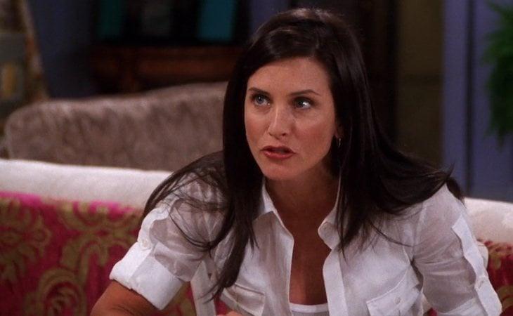 Monica, la maniática del grupo en 'Friends'