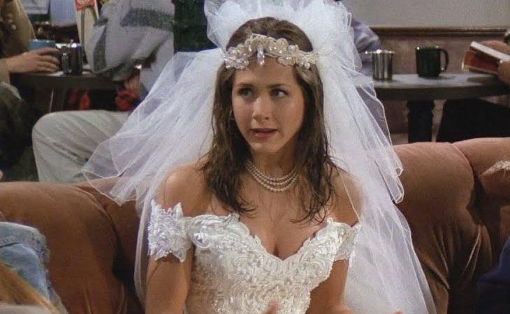 Rachel escapó de su boda al comienzo de 'Friends'