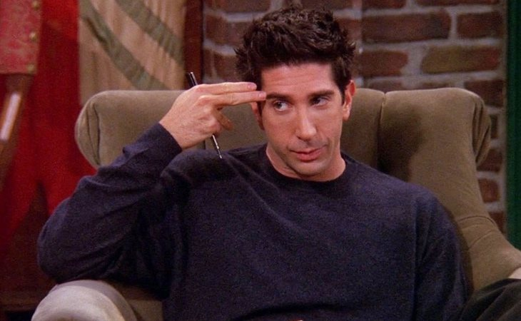 'Unagi', la táctica de Ross en 'Friends'