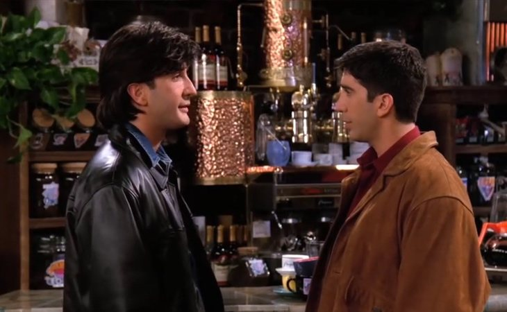 Russ es idéntico a Ross en 'Friends'