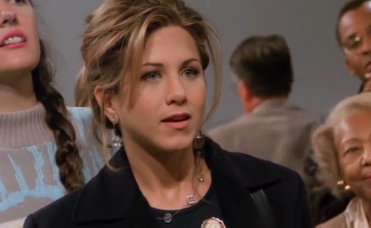 Rachel se enamora de Ross en 'Friends'