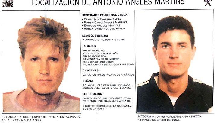 Antonio Anglés continúa en busca y captura