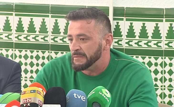 Rueda de prensa deDavid Serrano