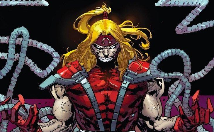 Omega Red, mutante villano