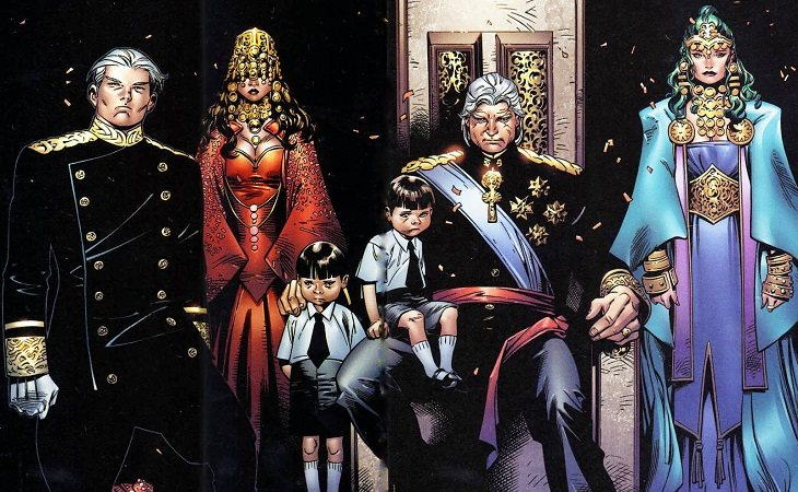 La Dinastía de Magneto, gobernantes del mundo