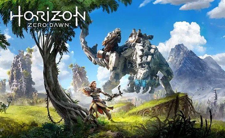 Sería visualmente asombroso ver a los dinosaurios robot de 'Horizon Zero Dawn' en el cine