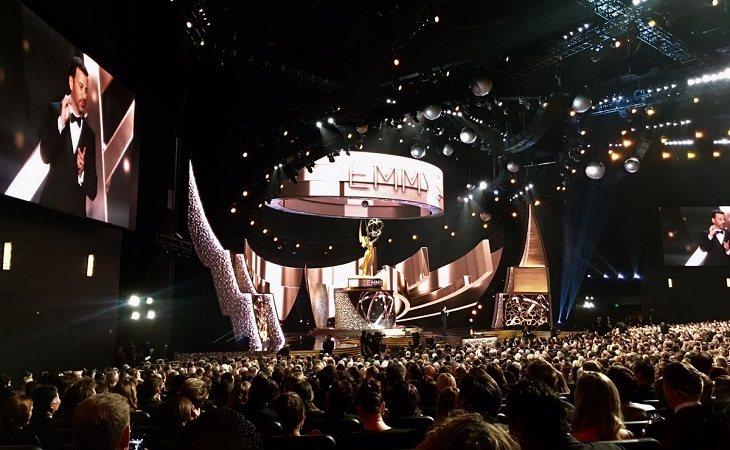 Imagen reciente de una de las ceremonias de los Emmy