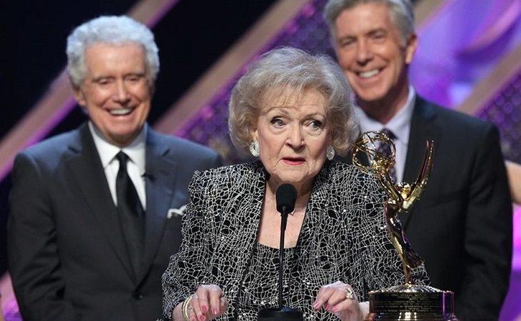 Betty White en los Emmy