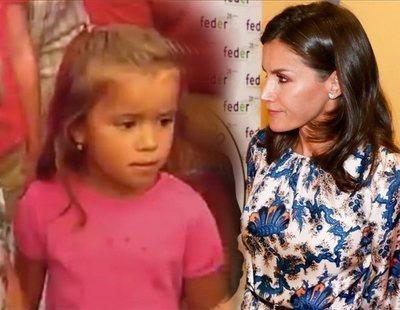 El vídeo que pone en cuestión la simpatía de la reina Letizia con una niña de tres años