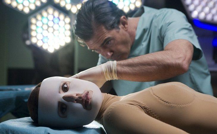 Elena Anaya y Antonio Banderas en 'La piel que habito'
