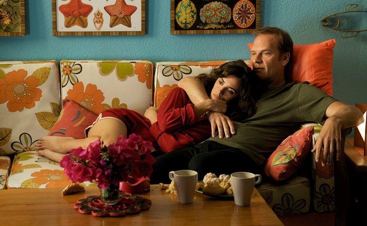 Penélope Cruz y Lluís Homar en 'Los abrazos rotos'