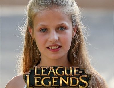 Trollean a la princesa Leonor en Wikipedia convirtiéndola en experta jugadora del 'League of Legends'