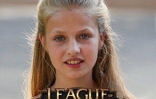 Trollean a la princesa Leonor en Wikipedia convirtiéndola en experta jugadora del 'League of Legends'