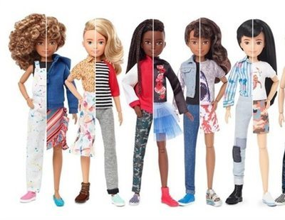 Mattel lanza su primera línea de muñecos sin género