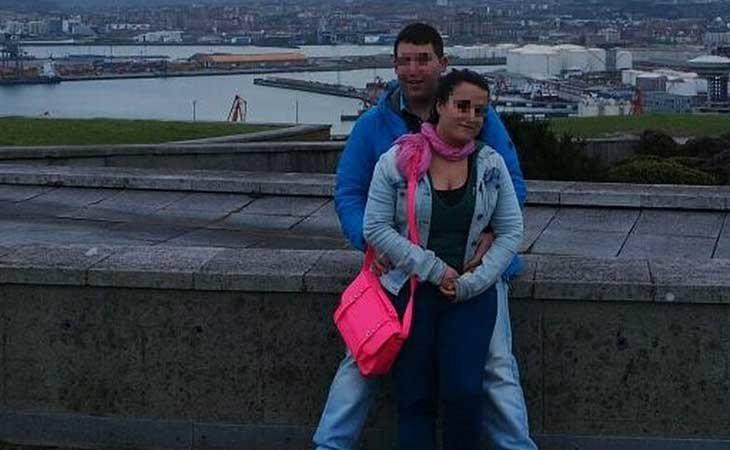 Silvia y Daniel en uno de sus viajes