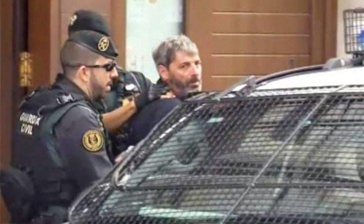 Xavier Duch Palau, en el momento de su detención