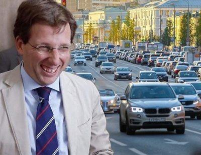 Almeida lanza Madrid 360, su plan para facilitar el acceso de coches al centro de Madrid