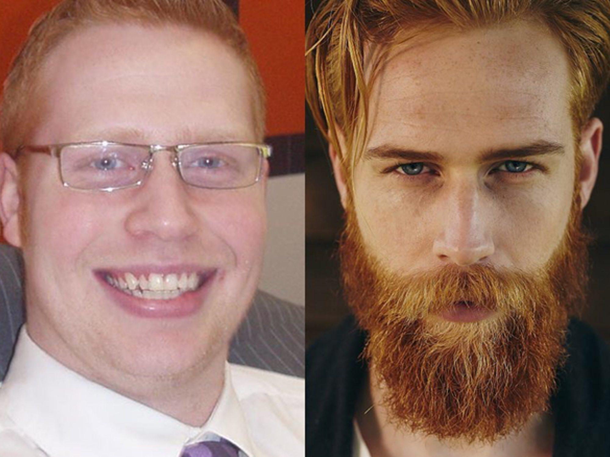 Cambio radical: Pierde 50 kilos, se deja barba y se convierte en modelo internacional
