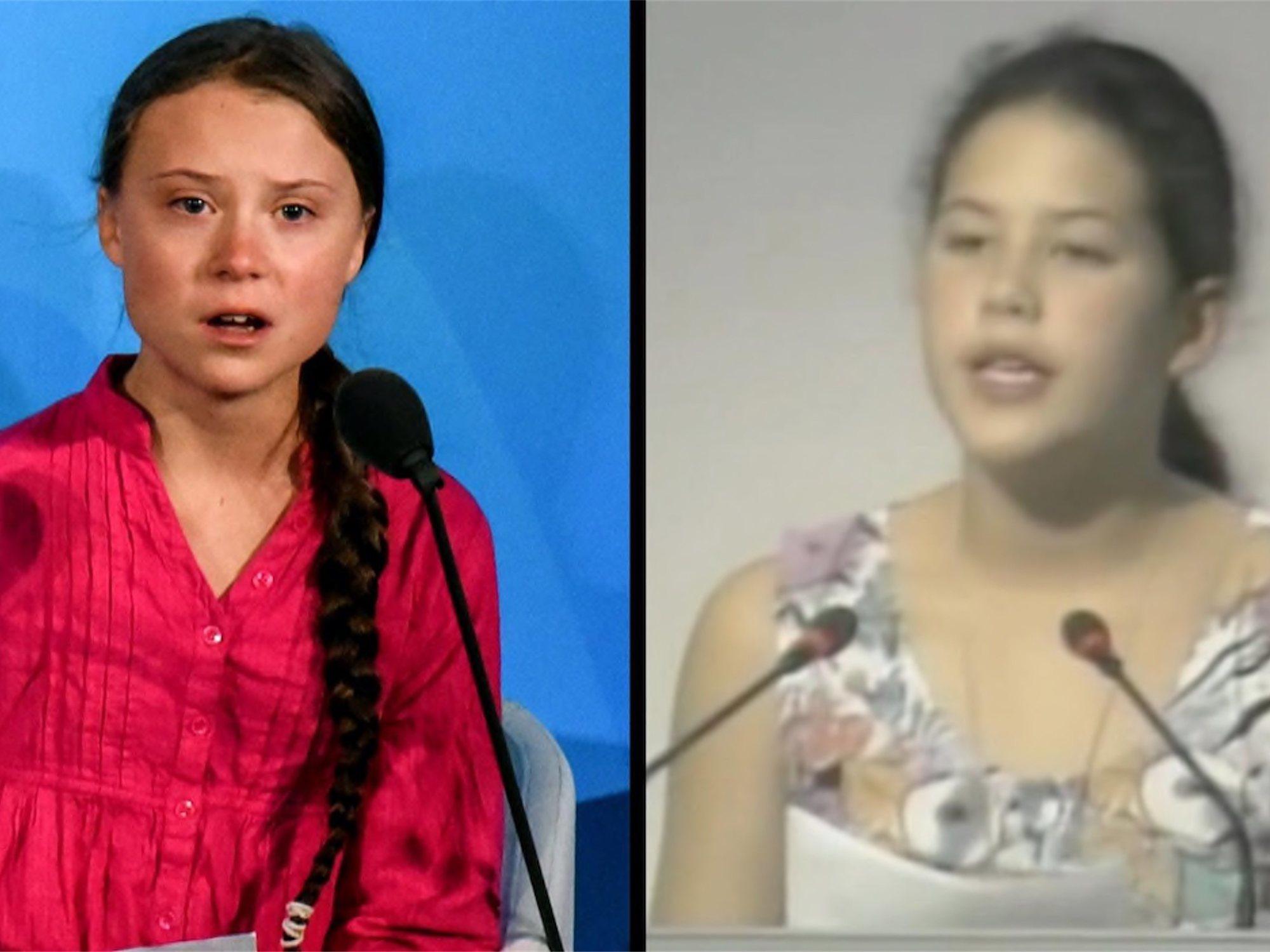 Severn Cullis-Suzuki, la Greta Thunberg de los noventa que el mundo ignoró